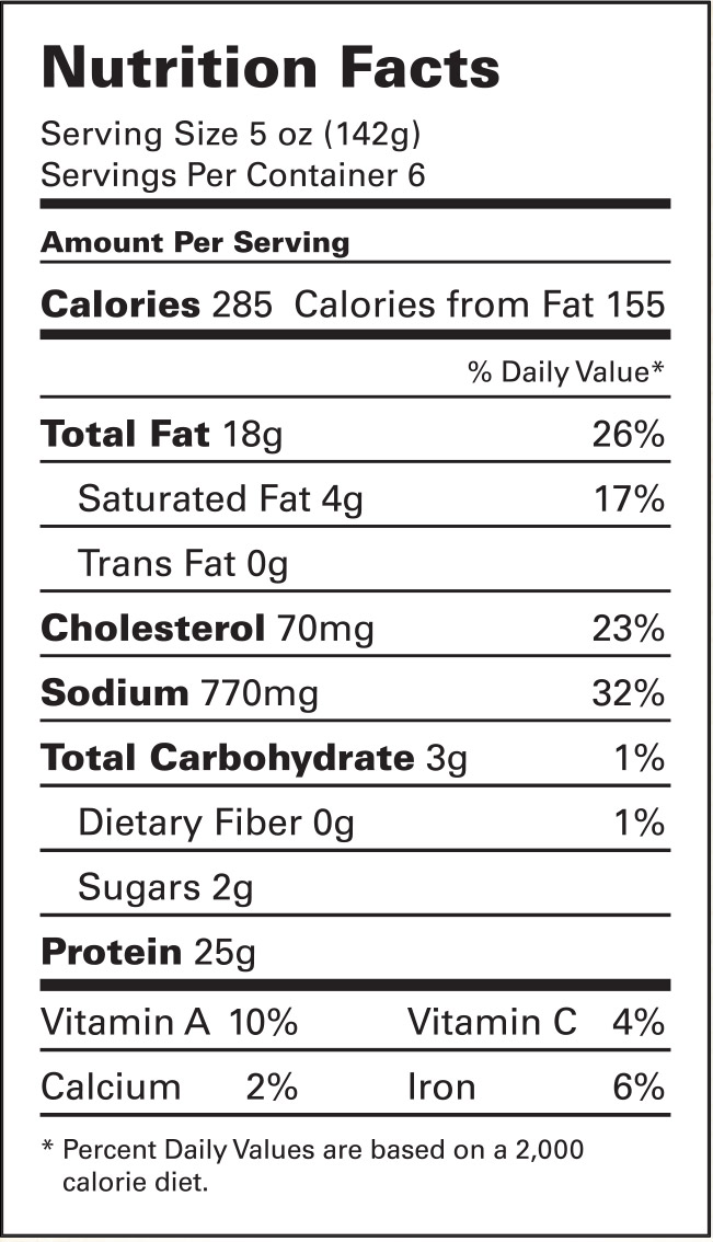 Whole Foods Market Sushi Nutrition Facts